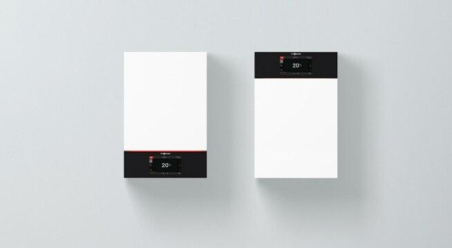Голям цветен Touch дисплей за интуитивно обслужване на котела